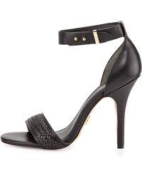 Pour La Victoire Yaya Leather Ankle-Strap Sandal - Lyst