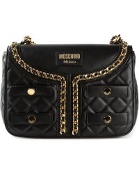Moschino Jacket Style Tote - Lyst