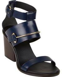Balenciaga Pierce Chunky-Heel Sandals - Lyst