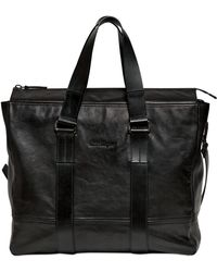 Ferragamo - Washed Calf Leather Hold All Bag - Lyst
