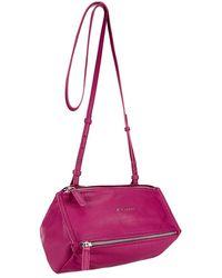 Givenchy Mini Grainy Pandora Bag purple - Lyst