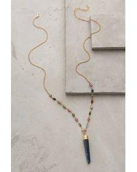 Heather Hawkins Kyanite Pendant Necklace - Lyst