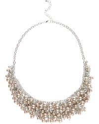 Jacques Vert   Pearl Scatter Necklace   Lyst