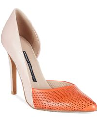 French Connection Mabel Two-Piece Pumps - Lyst