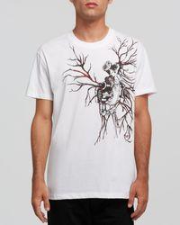 McQ by Alexander McQueen Heart Veins Tee - Lyst
