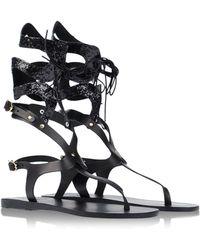 Ancient Greek Sandals Sandals black - Lyst
