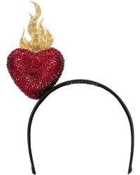 Piers Atkinson - Swarovski Crystal Sacred Heart Hair Band - Lyst