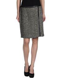 By Malene Birger Knee Length Skirt - Lyst