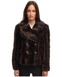 Vivienne Westwood Red Label Faux Fru Cropped Jacket - Lyst