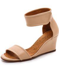 Chie Mihara - Suspiro Wedge Sandals - Lyst