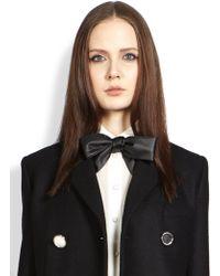 Saint Laurent Bow Tie - Black