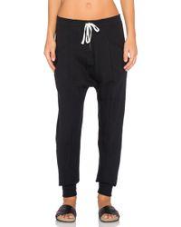 Craft & Commerce Ankle Sweatpant - Black