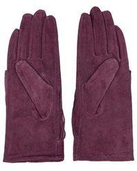 TOPSHOP - Suede Fringe Gloves - Lyst