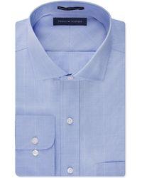 Tommy Hilfiger Non-Iron Blue Glen Plaid Dress Shirt blue - Lyst