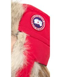 Canada Goose - Aviator Hat - Pacific - Lyst