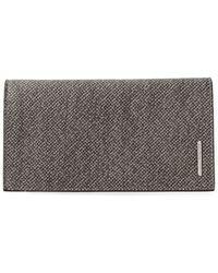 Giorgio Armani - Tweed Wallet - Lyst