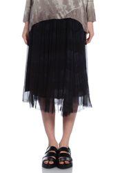 Raquel Allegra Shirred Skirt - Lyst