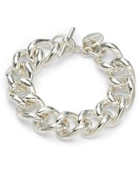 1AR By Unoaerre - Twisted Grommet Link Bracelet - Lyst