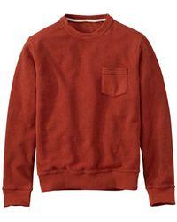 Timberland Waits River Crew Sweatshirt - Red
