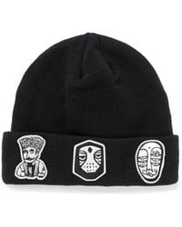 Haculla 'nyc' Character Patch Beanie - Black