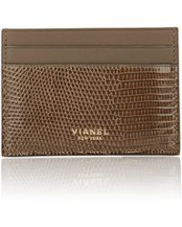 Vianel - Men's Lizard V3 Card Case - Lyst