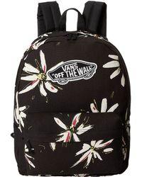 Vans Black Realm Backpack - Lyst