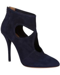 Aquazzura - Sexy Thing Suede Ankle Boots - Lyst