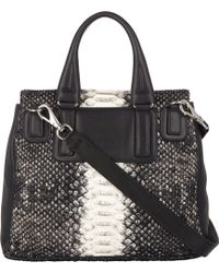 Givenchy Python Pandora Flap-front Shoulder Bag - Lyst
