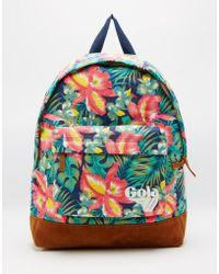 Gola - Floral Printed Backpack - Lyst