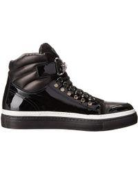 Cesare Paciotti Black Sneakers - Lyst