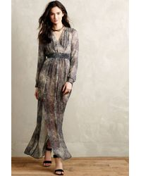Twelfth Street Cynthia Vincent Pitone Silk Maxi Dress - Lyst