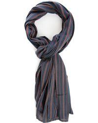 Denim & Supply Ralph Lauren Indigo Blue Stripes Scarf - Lyst