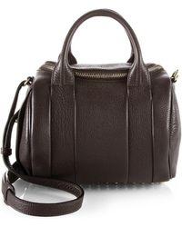 Alexander Wang Rockie Duffel Bag/Pale Goldtone brown - Lyst