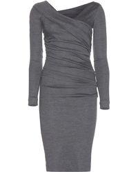 Diane Von Furstenberg Bentley Wool Dress - Lyst