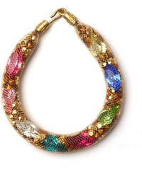 MZ Wallace - Peppercotton Bracelet Gold Multi - Lyst