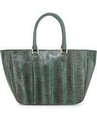 Beirn Ronnie Snakeskin Tote Bag - Lyst