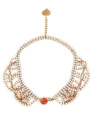 Toi Et Moi   Ines Coral Mix Necklace   Lyst