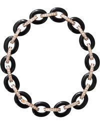 Inbar Onyx Link Bracelet - Black