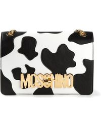 Moschino Cow Patch Shoulder Bag - Lyst