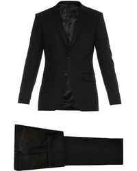 Givenchy Notch-Lapel Wool-Blend Suit - Lyst