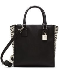 Vince Camuto 'Deb' Leather Satchel - Lyst