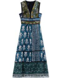 Burberry Prorsum | Long Dress | Lyst