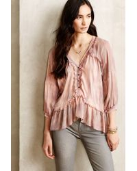 Gypsy 05 Boheme Peasant Top - Lyst