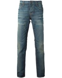Gucci Straight Leg Jeans - Lyst