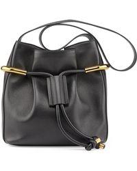 Chloé Emma Small Drawstring Shoulder Bag - Lyst