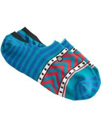 J.Crew Stance® Super Invisible Socks blue - Lyst