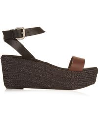Weekend by Maxmara | Calabra Leather Sandals | Lyst