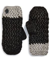 Vince Camuto - Chunky Knit Mittens - Lyst