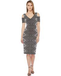 RSVP - Sleeveless Short Dress - Lyst