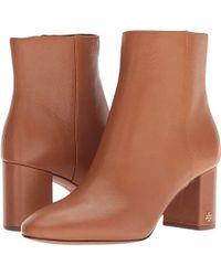 Tory Burch - Brooke 70mm Bootie (tan) Boots - Lyst